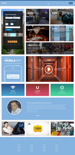Hard Rock Hotel Website Template