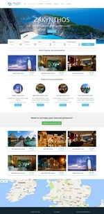 Hotel and Car booking portal Website Template