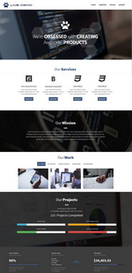 Clean and Simple Business Website Template
