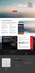 Pure Business design Website Template