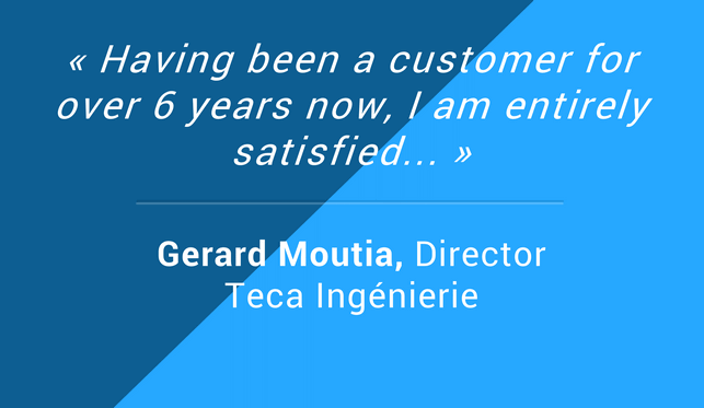 Client Reviews Gerard Moutia Director
